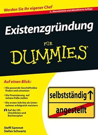 Existenzgründung für Dummies Buchempfehlung