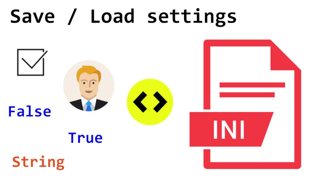Einstellungen in Ini Datei speichern und laden vb.net