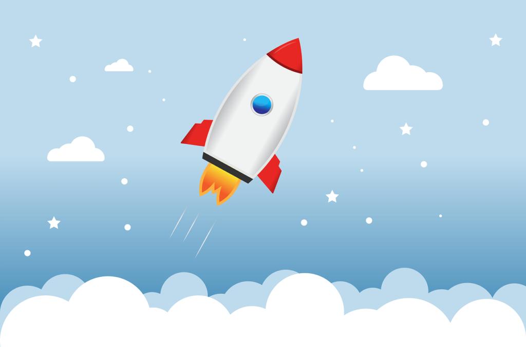 Startende Rakete, die Einführung - Los geht's