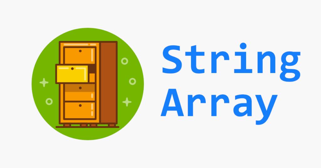 VB String Array