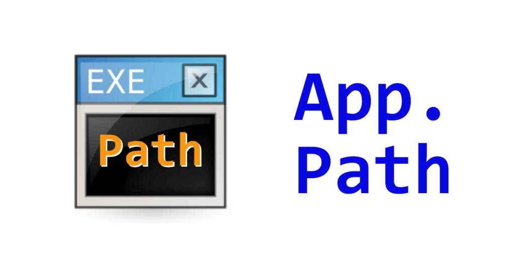 VB.NET Application Path