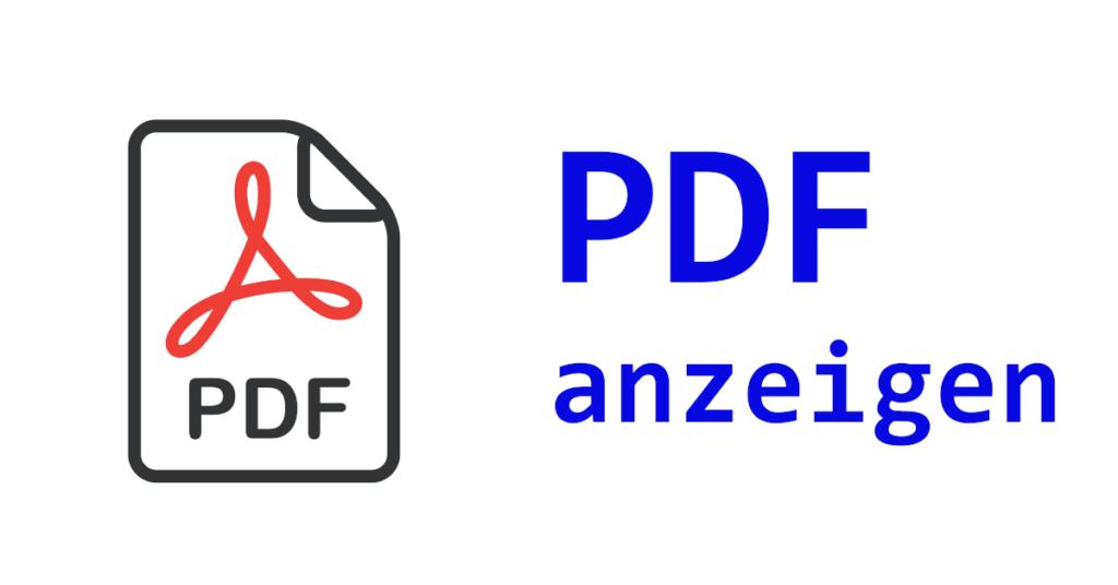 VB.NET PDF anzeigen