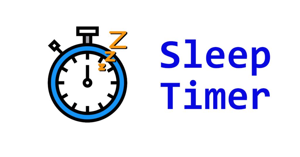 VB.NET Sleep Timer