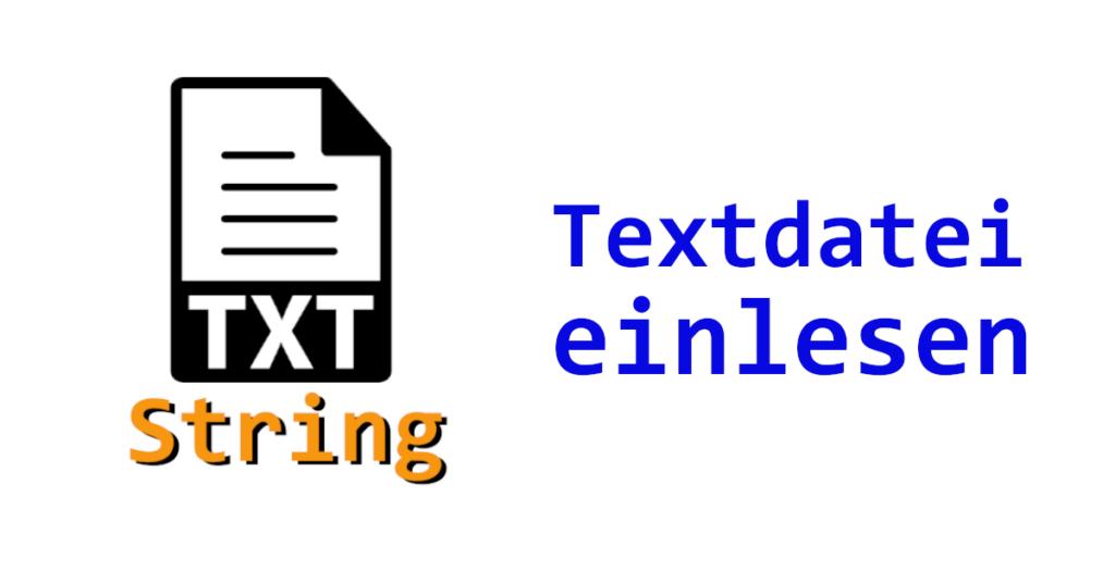 VB.NET Textdatei einlesen