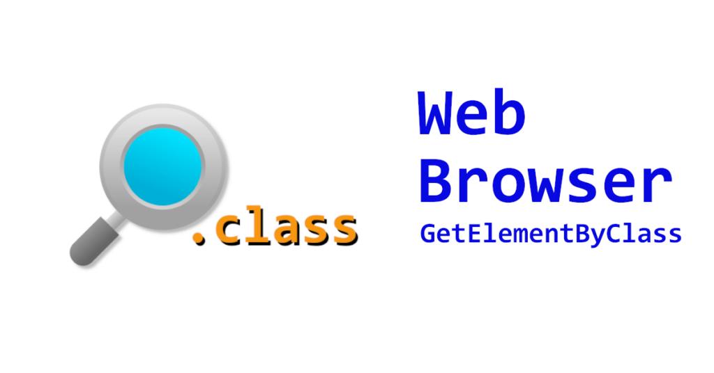 VB.NET Webbrowser Get Element By Class