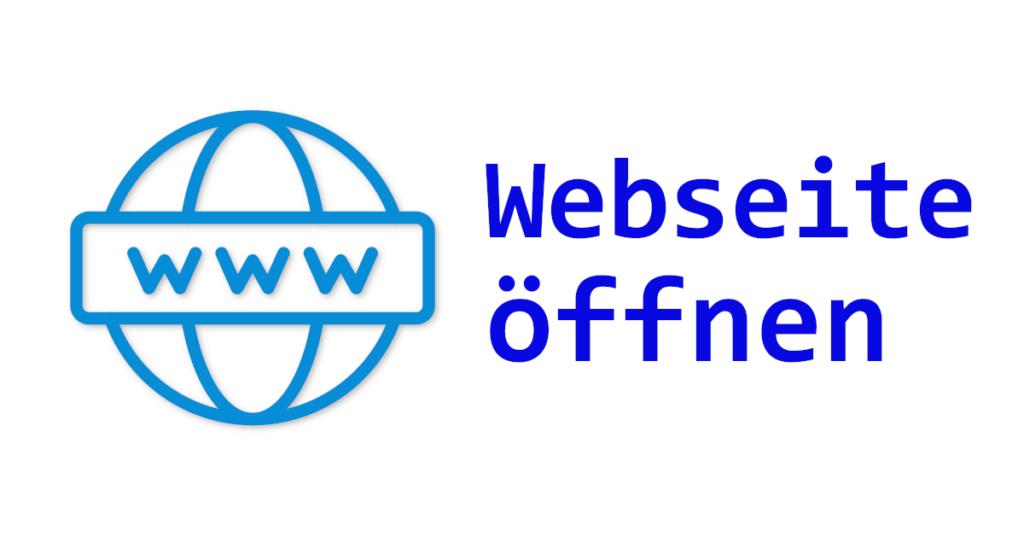 VB.NET Webseite öffnen