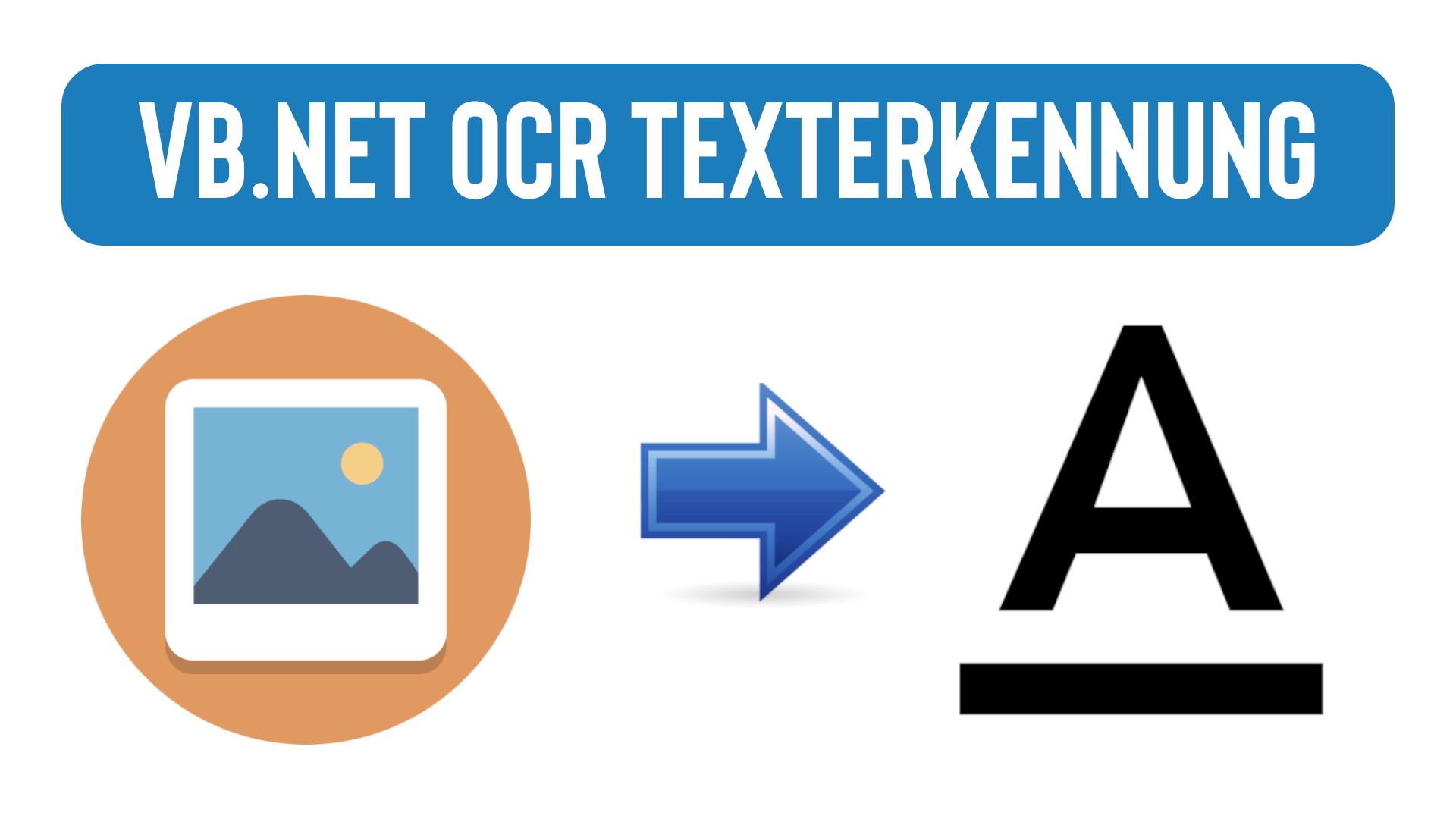 VB.NET Texterkennung auf Bildern