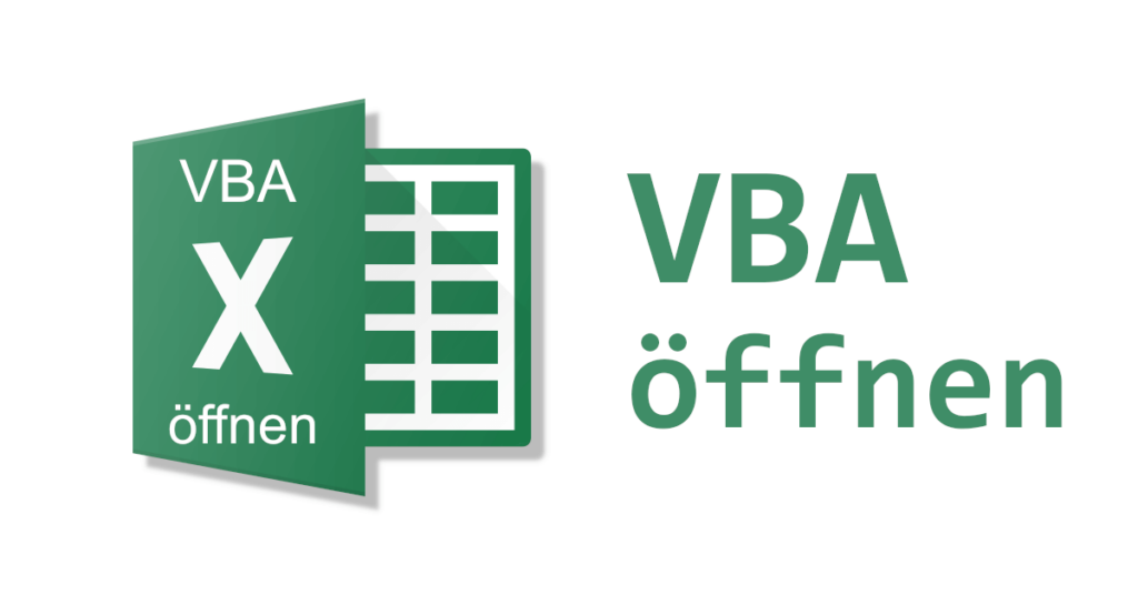 VBA in Excel öffnen