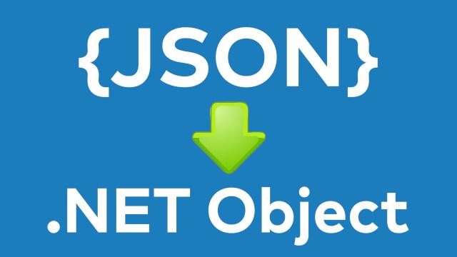 JSON zu NET Objekt umwandeln - VB NET Web API