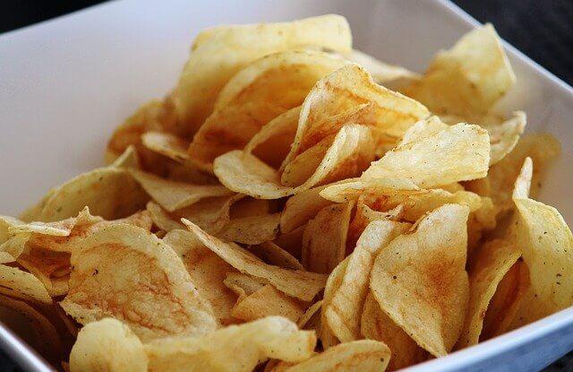 Eine leckere Schale mit Chips aus der Tüte – VBA For Schleife
