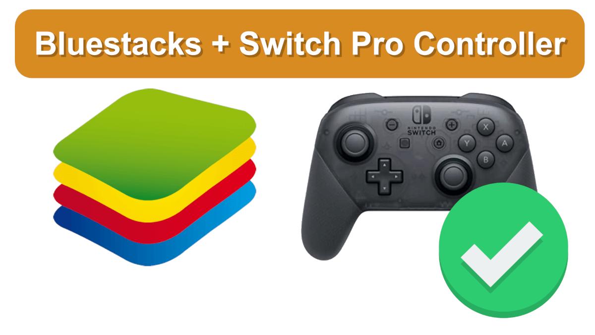 Nintendo Switch Pro Controller in BlueStacks5 verwenden
